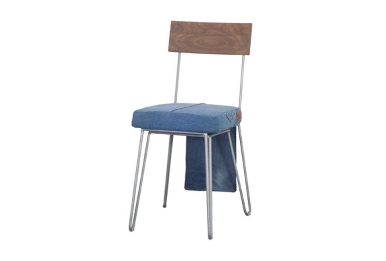 D-Blue Pooglia blue chair